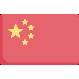 Vlag China Textwerk